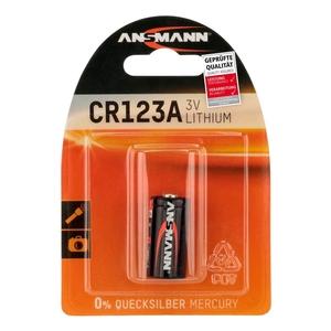 Image of Ansmann CR123A - 1x Lithium 3V Battery