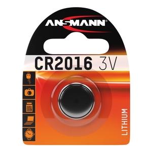 Image of Ansmann CR2016 - 1x Lithium 3V Coin Battery
