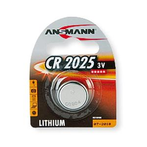 Image of Ansmann CR2025 - 1x Lithium 3V Coin Battery