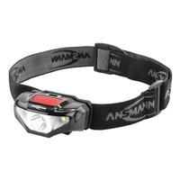Ansmann HD70B Headlamp (1xAA)