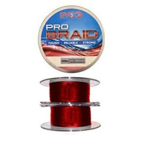 Image of Asso Ryco Sea Braid - 300m - Red