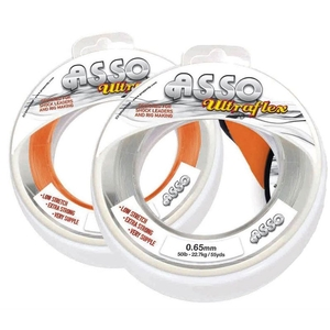 Image of Asso Ultraflex Leader - 50m/65m - Clear