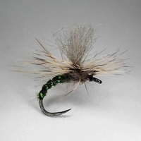 Barbless Flies Grannom Emerger Fly