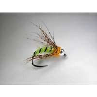 Barbless Flies Grannom Pupa Fly