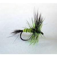 Barbless Flies Green Drake Wulff Fly