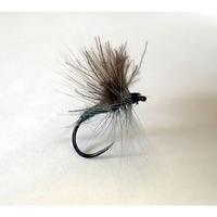 Barbless Flies Grey CdC Wulff Fly