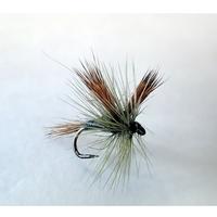 Barbless Flies Grey Wulff Fly