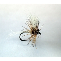 Barbless Flies White Wulff Fly