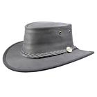 Barmah Foldaway Bronco - Fullgrain Leather Hat