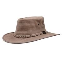 Barmah Squashy Cow Suede Hat