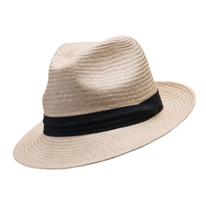 Image of Barmah Trilby Style Fine Raffia Hat - Natural