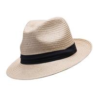 Barmah Trilby Style Fine Raffia Hat