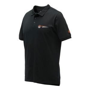 Image of Beretta Broken Clay Polo Shirt - Black