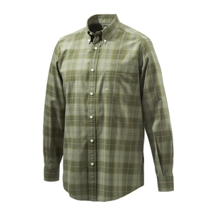 Image of Beretta Classic Shirt - Light And Dark Green Check