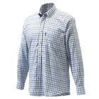 Image of Beretta Classic Shirt - White/Black/Brown Check
