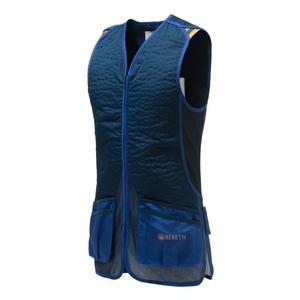 Image of Beretta DT11 Cotton Slide Vest - Blue Navy