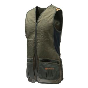 Image of Beretta DT11 Cotton Slide Vest - Dark Olive & Forest Night