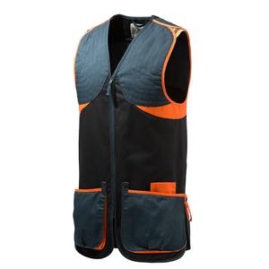 Image of Beretta Full Cotton Vest - Ambi - Black/Orange