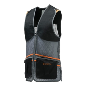 Image of Beretta Full Mesh Vest - Black/Grey