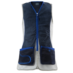 Image of Beretta Womens DT11 Vest - Navy / Silver