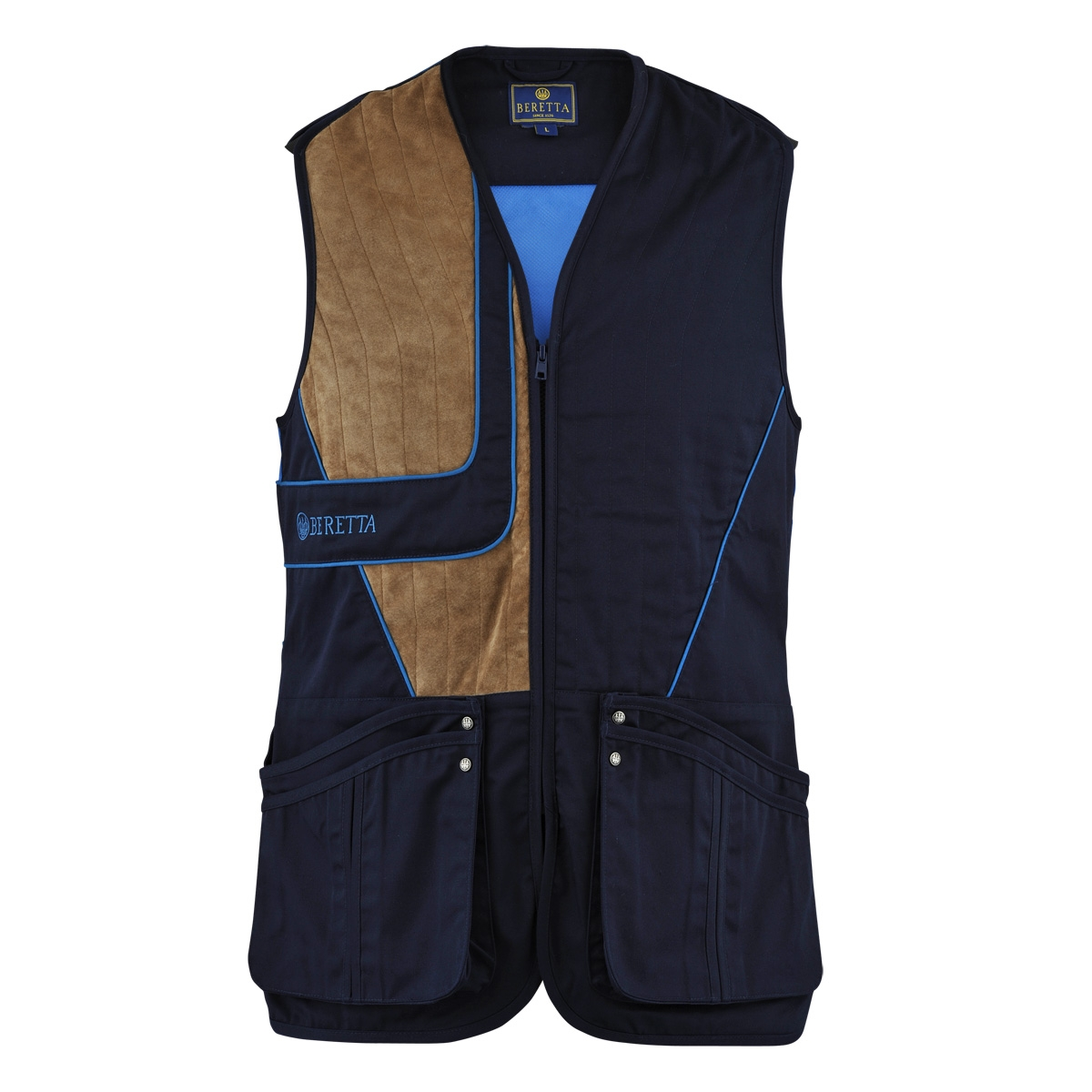 Uniform Beretta Uniform Vest Mens Vest Beretta Mens Blue Blue LSVpUzjqMG