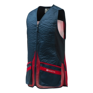 Image of Beretta Silver Pigeon Evo Vest - Blue Total Eclipse/Red