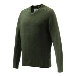 Image of Beretta Somerset V Neck Sweater - Green
