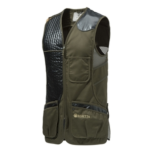 Image of Beretta Sporting Vest - R/H - Dark Olive