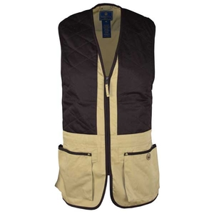 Image of Beretta Trap Cotton Vest - Cornstalk / Coffee Bean