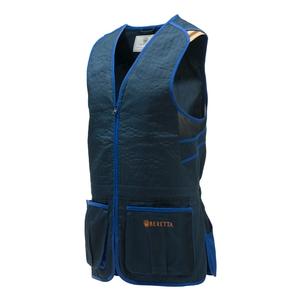 Image of Beretta Trap Cotton Vest - Blue Navy