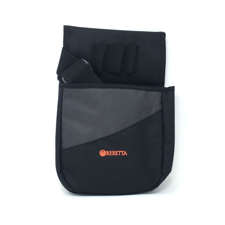 Image of Beretta Uniform Pro Cartridge Pouch - 2 Boxes - Black