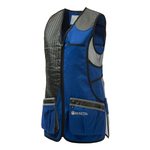 Image of Beretta Women's Sporting Vest - Blue Royal/Grey