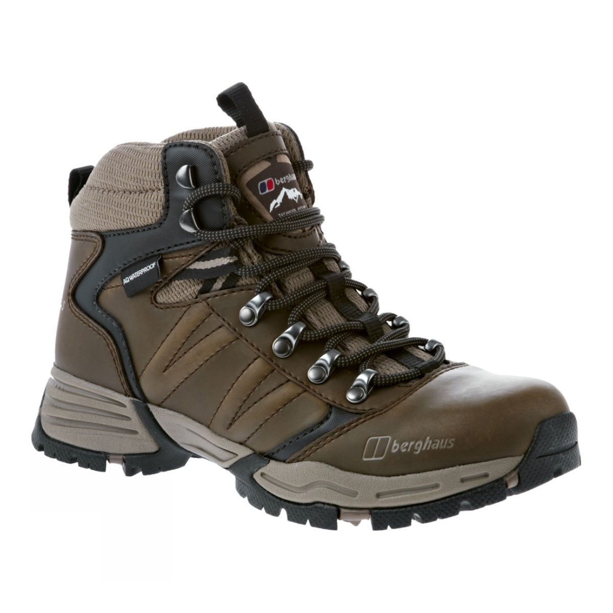 Image of Berghaus Expeditor AQ Leather Walking Boots (Women s) - Slate  Black   Walnut 05f6ac3fa