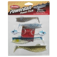 Berkley Powerbait Power Pack Seabass/Attraction 10 & 13cm