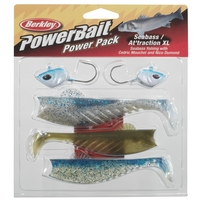 Berkley Powerbait Power Pack Seabass/Attraction XL 13 & 15cm