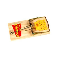Big Cheese Baited RTU Rat Trap