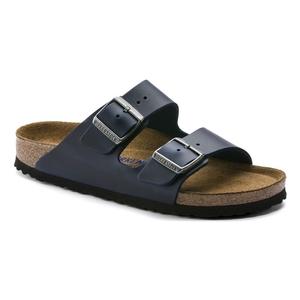 Image of Birkenstock Arizona Oiled Leather SFB Sandals - Blue