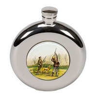 Bisley 4.5oz Round Shooting Hip Flask