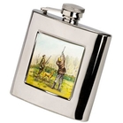 Bisley 6oz Square Shooting Hip Flask