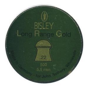 Image of Bisley Long Range Gold .22 Pellets x 500