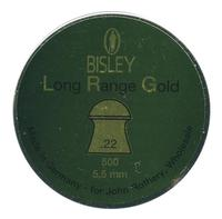 Bisley Long Range Gold .22 Pellets x 500