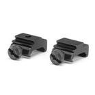 Bisley Pair of Weaver/Picatinny to Dovetail Adapter Blocks