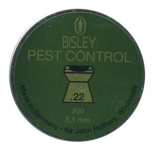 Image of Bisley Pest Control .22 Pellets x 200