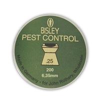Bisley Pest Control .25 Pellets x 200