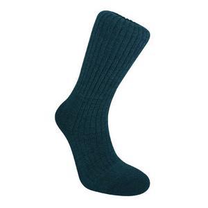 Image of Bridgedale Mens Merino Fusion Comfort Trekker Midweight Sock - Navy