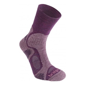Image of Bridgedale CoolFusion TrailBlaze Sock (Women's) - Plum