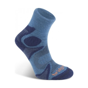 Image of Bridgedale CoolFusion Trailhead Sock (Men's) - Storm/Navy