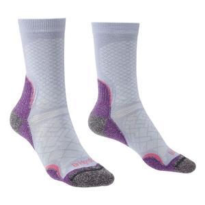 Image of Bridgedale HIKE Ultralight Coolmax Performance Sock (Women's) - Heather/Damson
