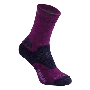 Image of Bridgedale Hike Midweight Merino Endurance Sock (Women's) - Berry