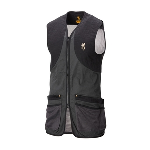 Image of Browning Classic Shooting Vest - Anthracite